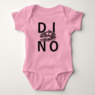 DINO - Pink Baby Jersey Bodysuit