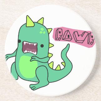 Dino Rawr Drink Coasters