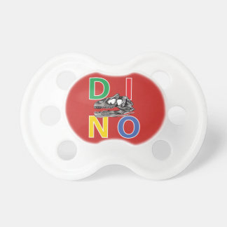 DINO - Red 0-6 months BooginHead® Pacifier