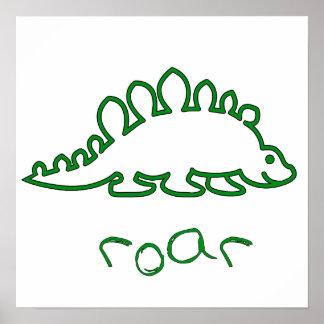 Dino Roar Poster