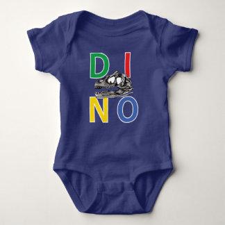 DINO - Royal Blue Baby Jersey Bodysuit