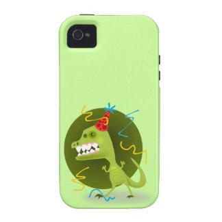 Dino s Rock - Dinosaur Birthday Party iPhone 4/4S Cases
