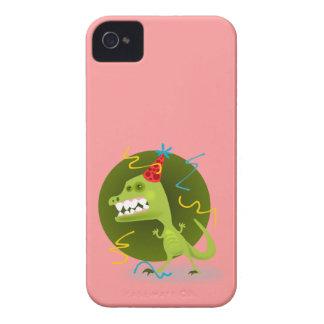 Dino s Rock - Dinosaur Birthday Party iPhone4 Case
