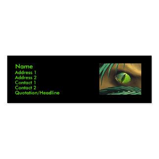 Dino Spy - Skinny Business Card