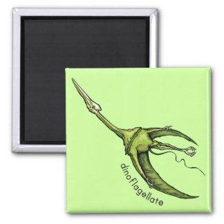Dinoflagellate Square Magnet