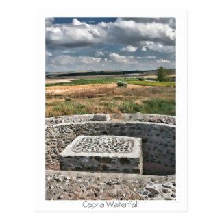 Dinogetia fortress postcard