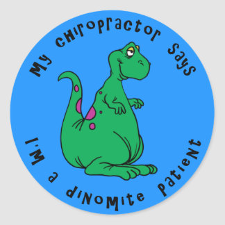 Dinomite Patient Stickers