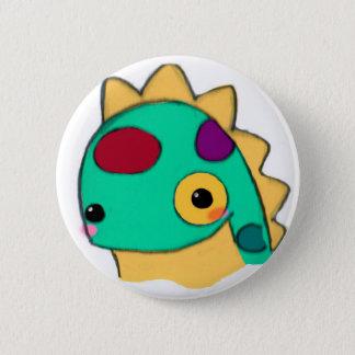 Dinosaur 6 Cm Round Badge