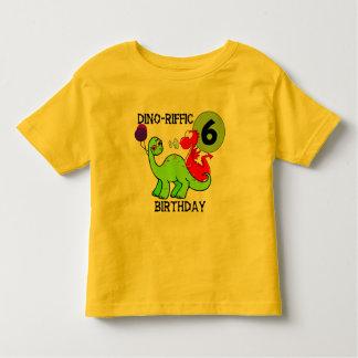 Dinosaur 6th Birthday T-shirts and Gifts