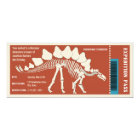 Dinosaur Adventure Pass Card