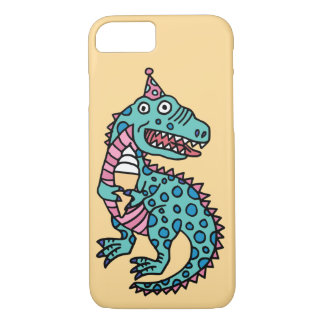Dinosaur and Ice Cream iPhone 8/7 Case