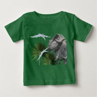 Dinosaur Baby Shirt with T-Rex
