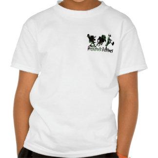 Dinosaur Basketball Monsta Flush Gear Tee Shirt