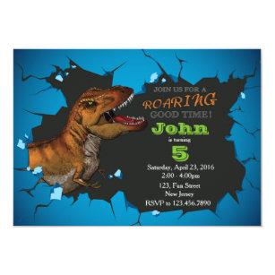 Dinosaur Birthday Invitations Announcements Zazzlecomau