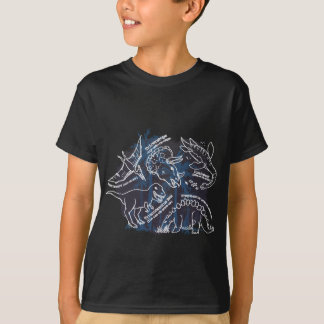 Dinosaur black t-shirt