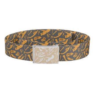 Dinosaur Bones (Grey) Belt
