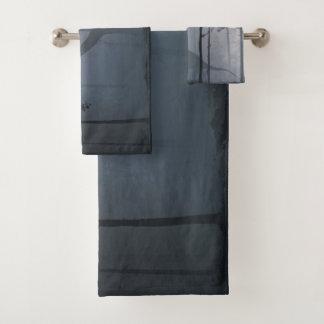 Dinosaur by Moonlight Bathroom Towel Set