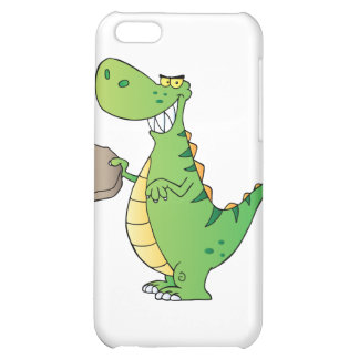 Dinosaur Cartoon Character Cover For iPhone 5C