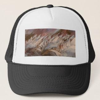 Dinosaur clothing trucker hat