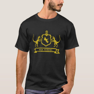 Dinosaur Coat of Arms - T-Shirt