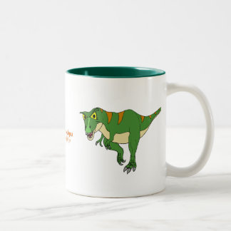 Dinosaur Coffee Cup T-Rex and Stegosaurus