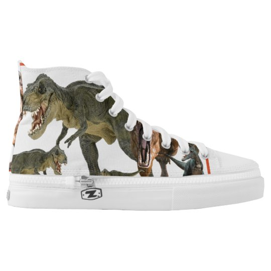 dinosaur composition high tops