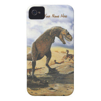 Dinosaur Family iPhone-Barely There Case-Mate iPhone 4 Case