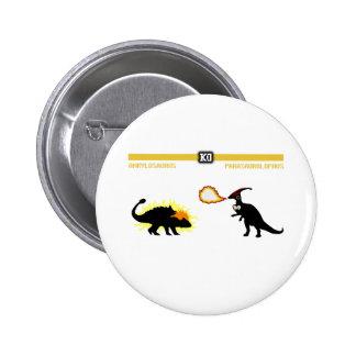Dinosaur  Fighter Ankylosaurus Pin