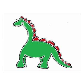 Dinosaur Gear Postcard