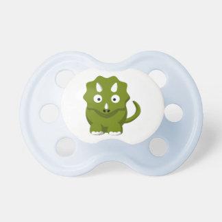 Dinosaur Green 0-6 months BooginHead® Pacifier
