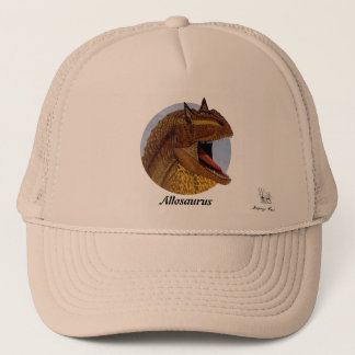 Dinosaur Hat Allosaurus Portrait Gregory Paul