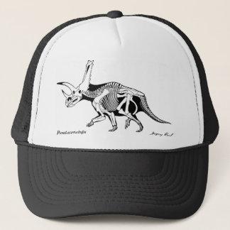 Dinosaur Hat Pentaceratops skeleton  Gregory Paul