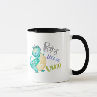 Dinosaur Illustration Mug