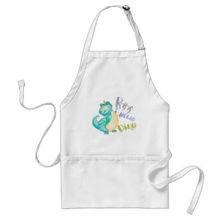 Dinosaur Illustration Standard Apron
