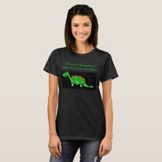 Dinosaur Joke Womens TShirt