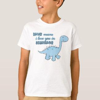 dinosaur kids t-shirt