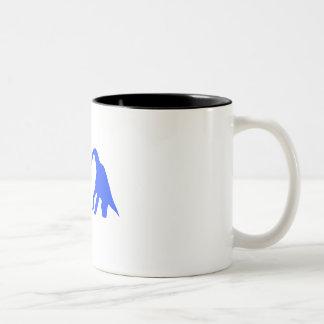 Dinosaur Love Two-Tone Coffee Mug