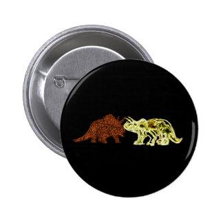 Dinosaur Mates Pinback Buttons