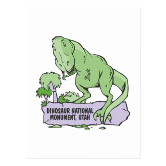 Dinosaur National Monument Utah Postcard