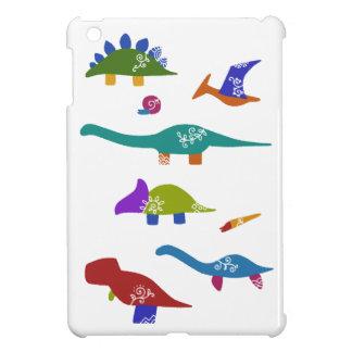 < Dinosaur old living thing (deep) > Dinosaurs & iPad Mini Case