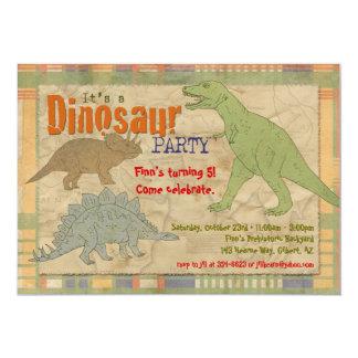 Dinosaur Party Invitation - Personalized