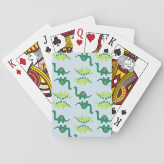 Dinosaur Pattern Playing Cards