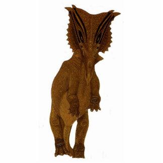 Dinosaur Photo Sculpture Chasmosaurus Gregory Paul