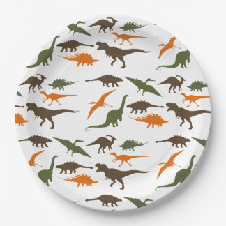 Dinosaur Plate, Birthday Party Paper Plate