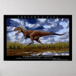 Dinosaur Poster Daspletosaurus Greg Paul