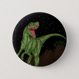 Dinosaur - Prehistoric Night 6 Cm Round Badge