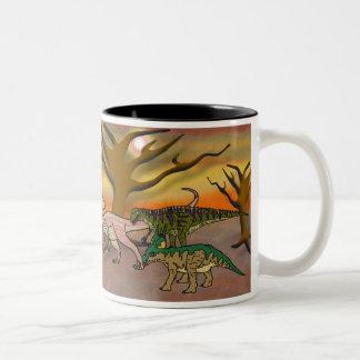 Dinosaur Romp Coffee Mug