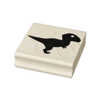 Dinosaur Rubber Stamp