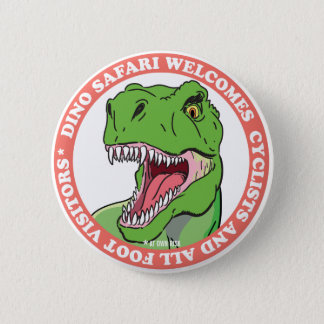 Dinosaur Safari 6 Cm Round Badge