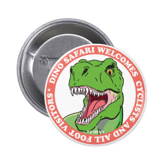 Dinosaur Safari 6 Cm Round Badge